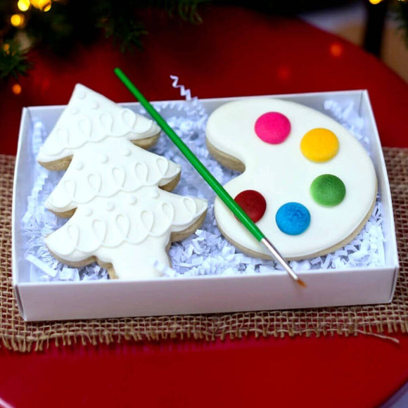 Paint-Your-Own: Christmas Cookies