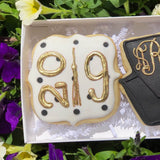 Custom Cookies - 2019 Graduation Duo - Southern Sugar Bakery
