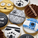 May The Force Be With You! | Star Wars | Decorated Birthday Cookies
