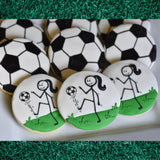 Custom Cookies - Let's Kick It! - Southern Sugar Bakery