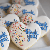 Custom Cookies - Thank You | Simple and Sweet - Southern Sugar Bakery
