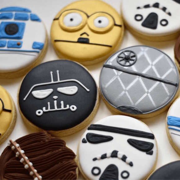 Custom Cookies - May The Force Be With You! - Southern Sugar Bakery