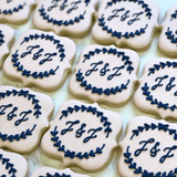When Two Become One! | Decorated Engagement Cookies | Southern Sugar Bakery