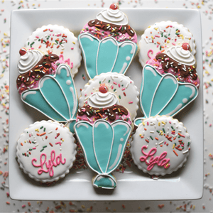 Ice Cream Sprinkles! | Decorated Birthday Cookies