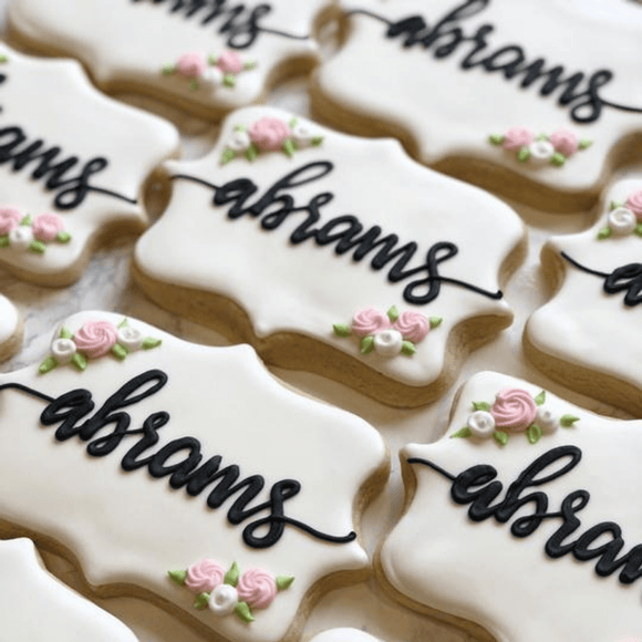 Custom Cookies - Simplicity Is Best! - Southern Sugar Bakery