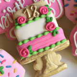 Time To Celebrate! | Decorated Birthday Cookies | Cake