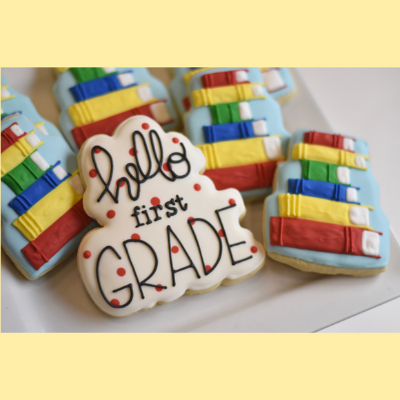 Custom Cookies - School | HELLO New Year! - Southern Sugar Bakery