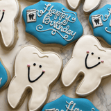 My Favorite Dentist! | Decorated Birthday Cookies