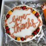 Custom Cookies - Thanksgiving Duo | Give Thanks! - Southern Sugar Bakery