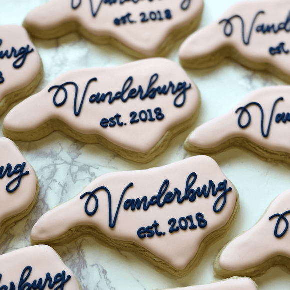 Custom Cookies - North Carolina |  Will Always Be Home! - Southern Sugar Bakery