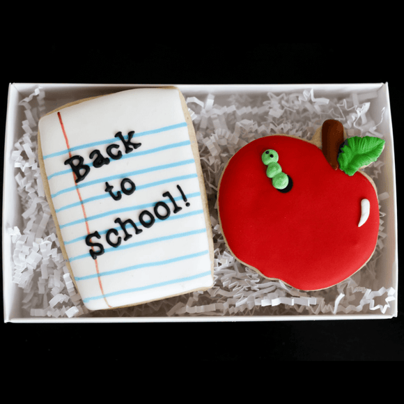 Custom Cookies - School | Back To School! - Southern Sugar Bakery