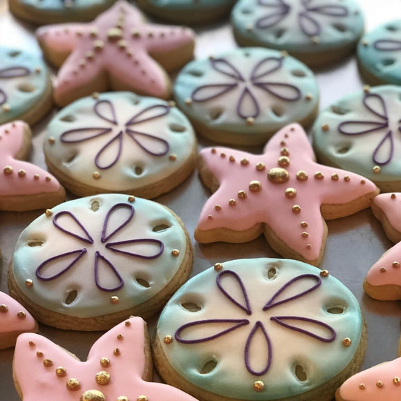 Custom Cookies - Sea Life! - Southern Sugar Bakery