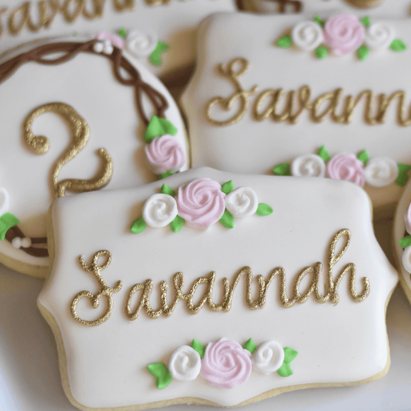 Custom Cookies - Timeless Treasure! - Southern Sugar Bakery