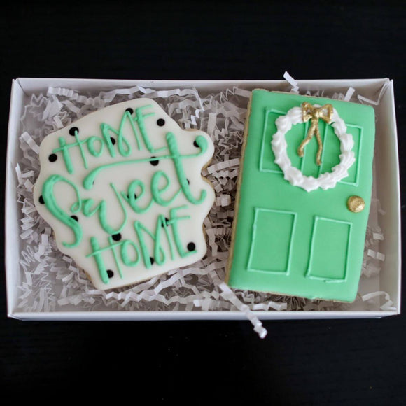Custom Cookies - Home Sweet Home! - Southern Sugar Bakery
