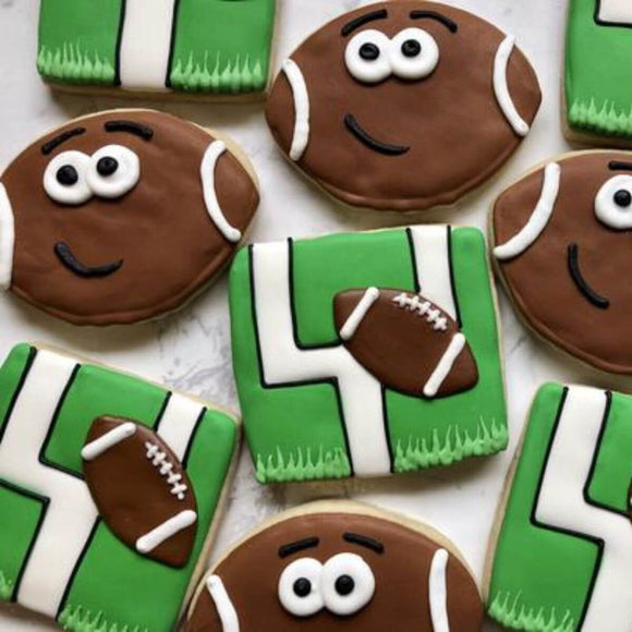 Custom Cookies - TOUCHDOWN!! - Southern Sugar Bakery
