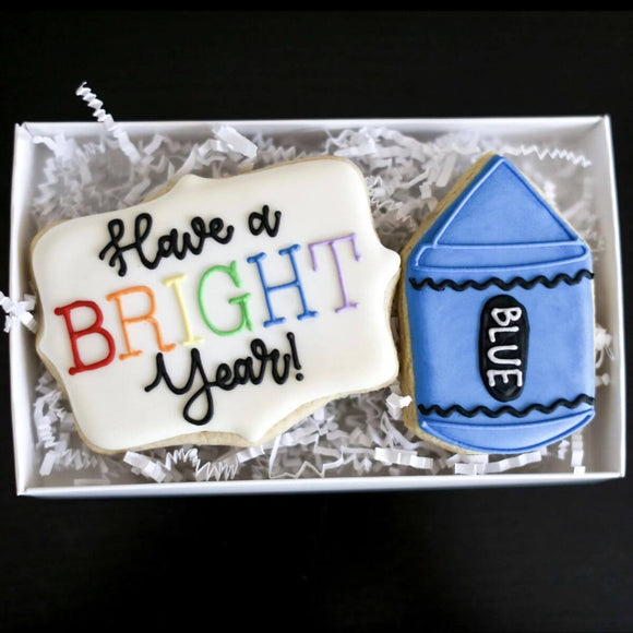 Custom Cookies - Have a Bright Year! - Southern Sugar Bakery