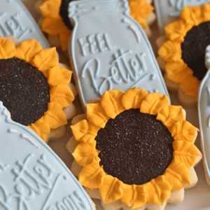 Custom Cookies - Get Well Soon |  Southern Wishes! - Southern Sugar Bakery