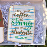 Custom Cookies - Back to School | Teacher Fuel Duo! - Southern Sugar Bakery