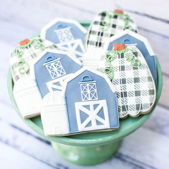 Down On The Farm | Fall Cookies | Southern Sugar Bakery