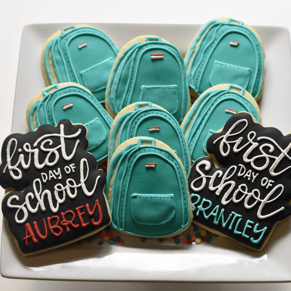 Custom Cookies - School | First Day of School! - Southern Sugar Bakery
