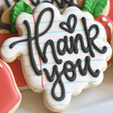 Custom Cookies - Thank You Cookies | Educators are Awesome! - Southern Sugar Bakery