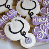 Custom Cookies - Nurses Call The Shots! - Southern Sugar Bakery