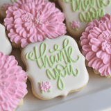 Custom Cookies - Thank You | You Help Me Grow! - Southern Sugar Bakery