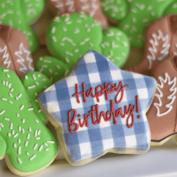 Happy Birthday | Howdy, Partner! - Southern Sugar Bakery