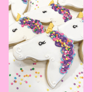 Unicorn Birthday Cookies | One of a Kind!