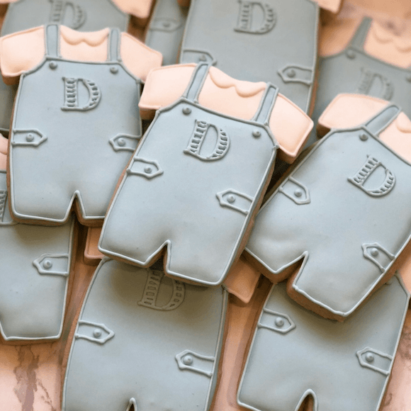 Custom Cookies - Baby Announcement Cookies | A Southern Gentleman! - Southern Sugar Bakery