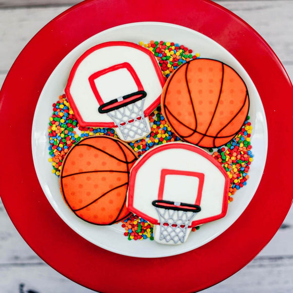 Custom Cookies - Basketball Madness - Southern Sugar Bakery