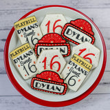 Custom Cookies - Birthdays | Give My Regards to Broadway - Southern Sugar Bakery