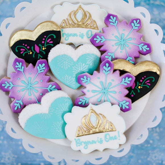 Custom Cookies - Birthdays | Coronation Day - Southern Sugar Bakery