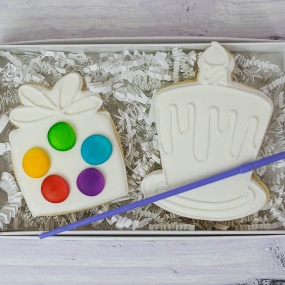 Custom Cookies - Happy Birthday |  Paint Your Own Birthday Cookies - Southern Sugar Bakery
