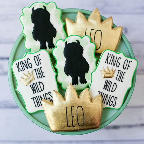 Custom Cookies - Birthday | Wild Thing Rumpus - Southern Sugar Bakery
