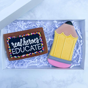 Custom Cookies - Better Together Collection | Super Heroes Educate - Southern Sugar Bakery