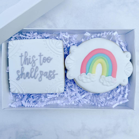 Custom Cookies - Better Together Collection | Keep Looking Up - Southern Sugar Bakery