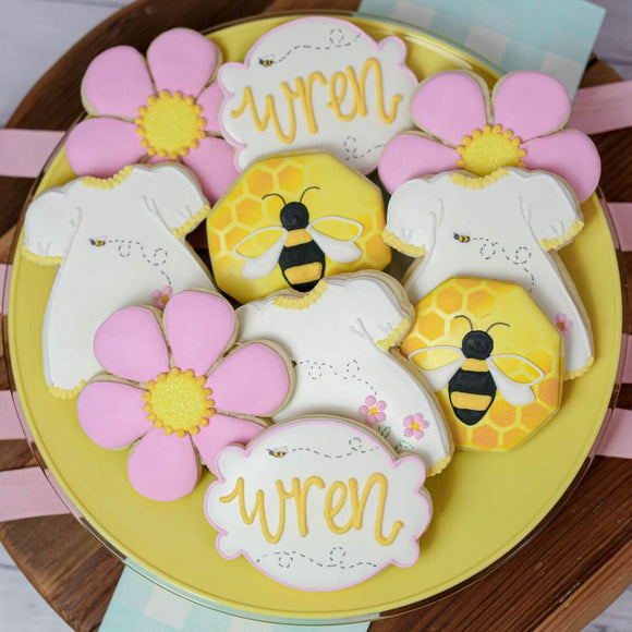 Custom Cookies - Baby Events | BEE-utiful Baby - Southern Sugar Bakery
