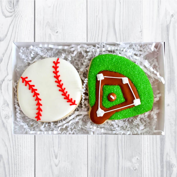 Custom Cookies - Bases Loaded! - Southern Sugar Bakery