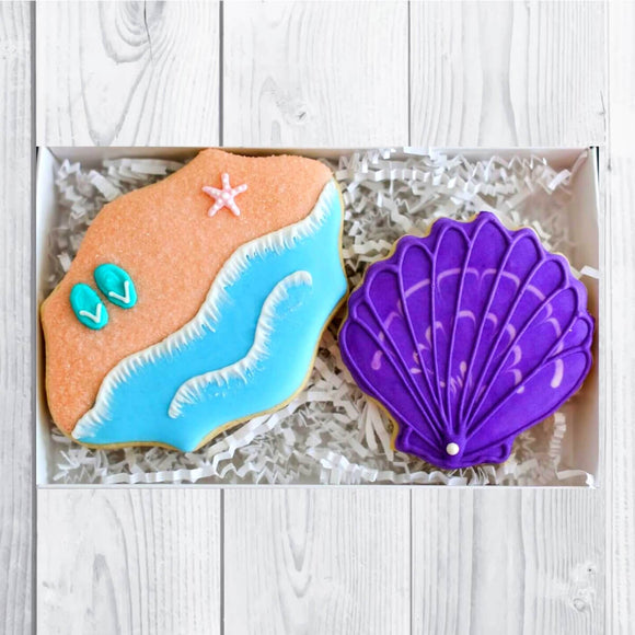 Custom Cookies - Beach Life! - Southern Sugar Bakery