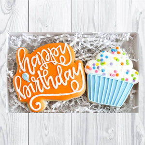 Custom Cookies - Birthday | Happy Birthday! - Southern Sugar Bakery