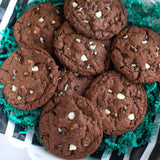 Triple Chocolate Mint Chip | Drop Cookies