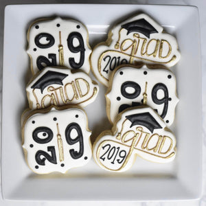 Today is the Day! | Decorated Graduation Cookie