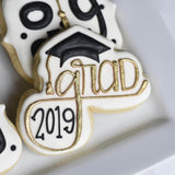 Today is the Day! | Decorated Graduation Cookie | Grad Cookie