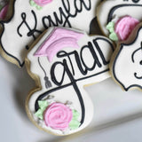 Beautiful Graduate! | Decorated Graduation Cookies | Grad Cookie