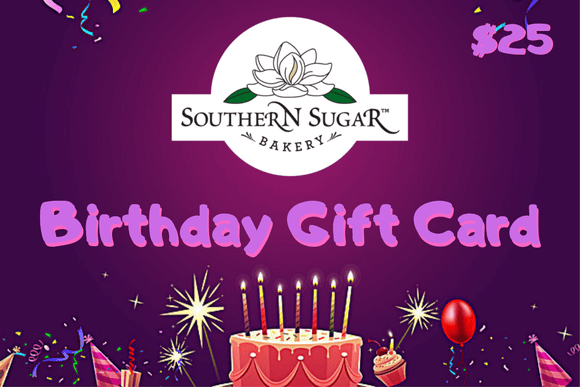 Birthday Fun Gift Card - Southern Sugar Bakery