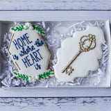 Custom Cookies - Home Is Where The Heart Is - Southern Sugar Bakery