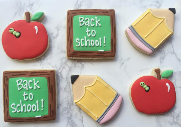 Custom Cookies - Back to School Set! - Southern Sugar Bakery