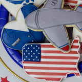Custom Cookies - Military Collection - Air Force - Southern Sugar Bakery