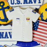 Custom Cookies - Military Collection - NAVY - Southern Sugar Bakery